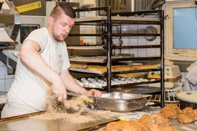 De warme bakker Rob van Dijk, Groningen
