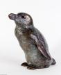 Pinguin, Brons, gemaakt door Fiona Zondervan
